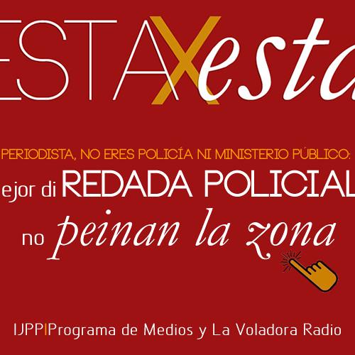 """Mejor di REDADA POLICIAL, no """"peinan la zona"""""""