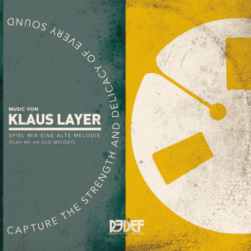 Klaus Layer - Play me an old Melody (Download/Vinyl Link)