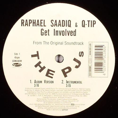 Raphael Saadiq Feat. Q - Tip - Get Involved (Jean Tonique Edit)