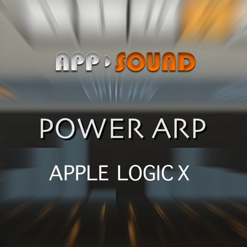 "Apple Logic X ""Power Arp"""