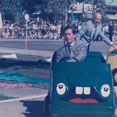 Prince Charles and Princess Diana drive Careful Cobbers in Shepparton
