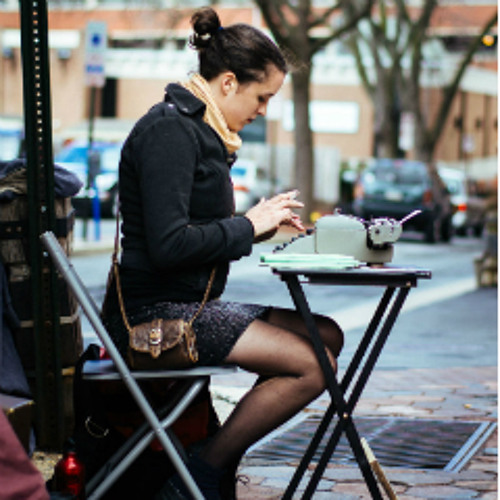 A Typewriter, A Table, A Way of Life