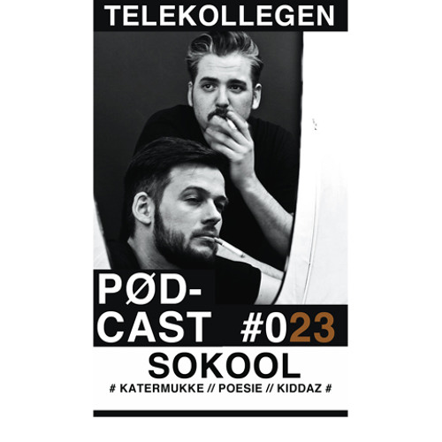TELEKOLLEGEN PODCAST #023 mixed by SOKOOL (KATERMUKKE / POESIE/ KIDDAZ)