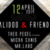 frequenzpiraten (aka k-man & mr.labo)- live cut: calidoo & friends - 120414 @ i-club