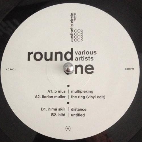 "Various Artists - Round One (ACR001) 12"" Vinyl - Release Date : March 2014"