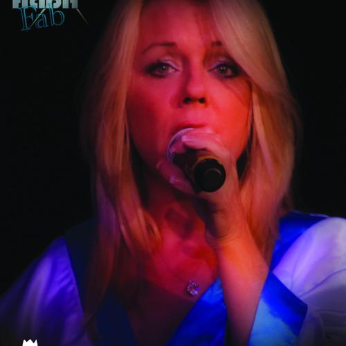 Q&A Show KQNA With DJ Fone - Anne Davies ABBA FAB Elks Theater 4 - 17 - 14