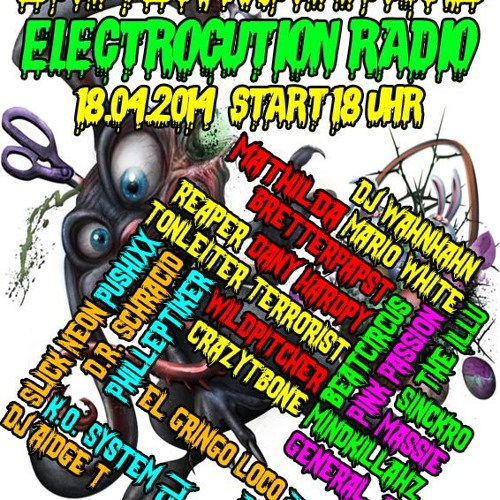 Easter Massacre Hardtechno Mix @DJAidgeT On Electrocution Radio 2014