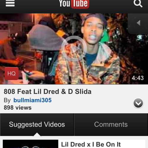 808 FT DSlida And Lil Dred