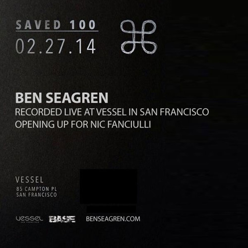 Ben Seagren - Live At Vessel Opening up for Nic Fanciulli - February 2014