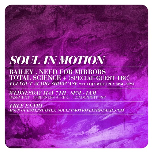 Soul In Motion Promo Mix - Sweetpea
