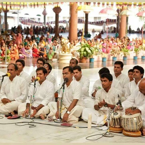 Mandir Live Rendition of my Humble Composition - Ram Rahim Ho by