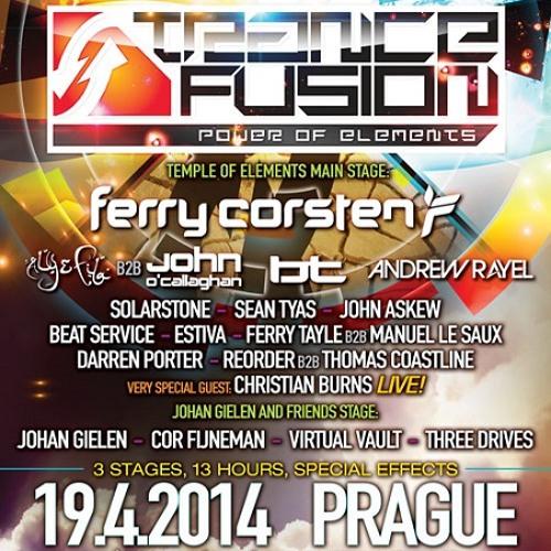 Ferry Tayle B2B Manuel Le Saux at TranceFusion, Prague, Czech Republic (2014-04-19)