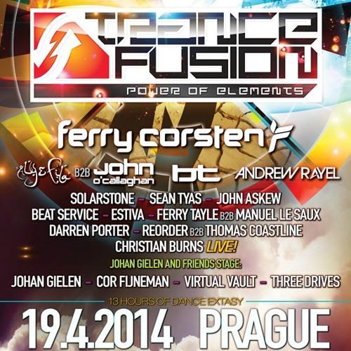 Trancefusion - Power Of Elements, Prague, Czech Republic [April 19, 2014]