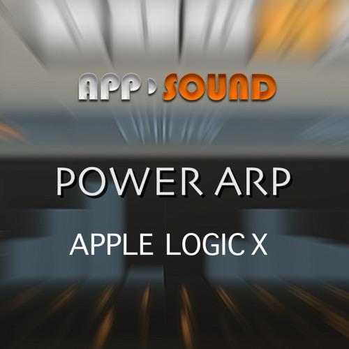 "Apple Logic X Power Arp - Demo ""Easy Arp Lounge 01"""