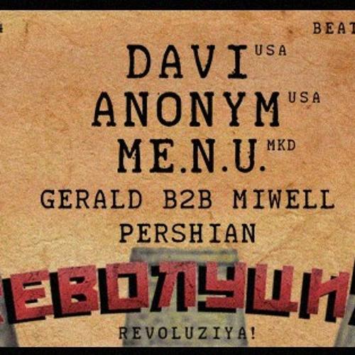 Pershian @ ☭ RеволуциЯ ☭ , BeatClub Amsterdam, 19-4-2014