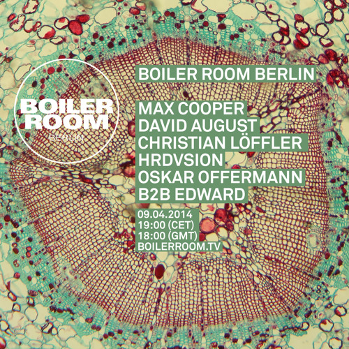 David August Boiler Room Soundcloud
