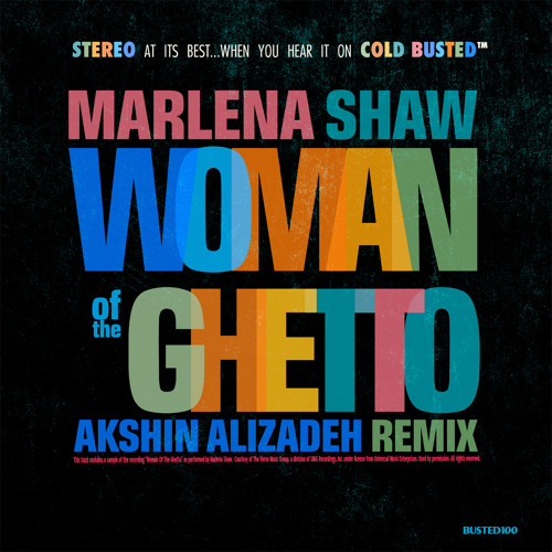 Marlena Shaw - Woman of the Ghetto (Akshin Alizadeh Remix) (Cold Busted)