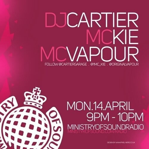 Essential Garage - Ministry Of Sound Radio Ft Mc Kie & Mc Vapour 14.04.14