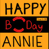 Happy Birthday Annie - End of 1st Day