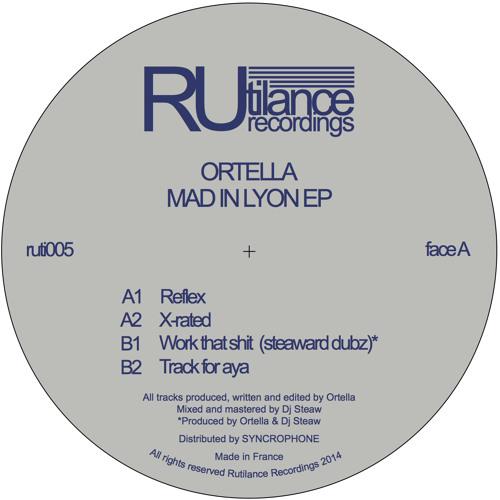 Ortella - Mad In Lyon EP - ruti005