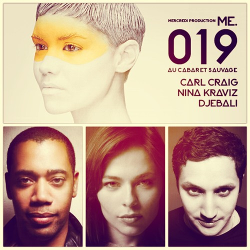 Carl Craig & Nina Kraviz mixed by Djebali