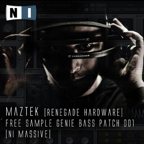 MAZTEK - Free Massive Bass Patch 001 [click link in description to dl]