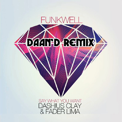 Funkwell feat. Dashius Clay & Fader Lima - Say What You Want (Daan'D Remix)