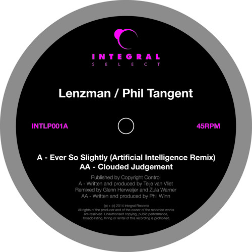 Phil Tangent - Clouded Judgement - Radio 1 Xtra - Integral Select Album Sampler