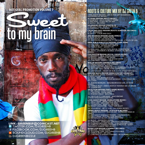 SWEET TO MY BRAIN - DJ GREEN B  HOT GYAL PROMOTION VOLUME 7