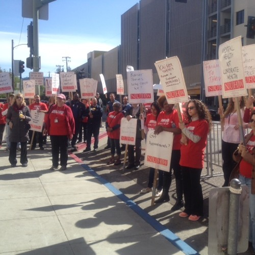 Healthcare Workers Strike Alleging Understaffing in the Mental Health Department at Kaiser Oakland