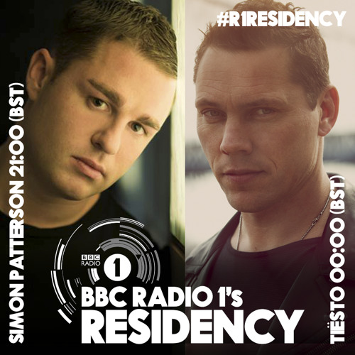 #R1Residency: Simon Patterson and Tiësto