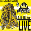 Nas & Damian Marley Live @ Openair Frauenfeld 07-09-2010 [Distant Relatives Tour]
