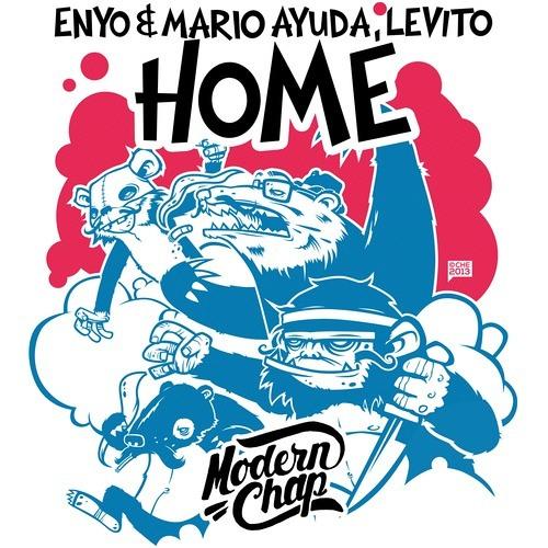 Enyo & Mario Ayuda, Levito - Home [Hardwell On Air 157 - Demo of the week]