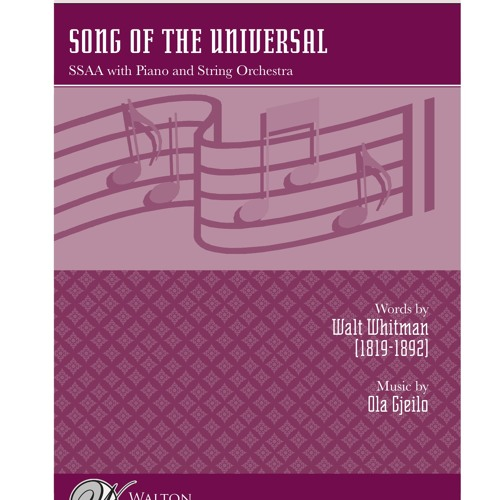 Song of the Universal