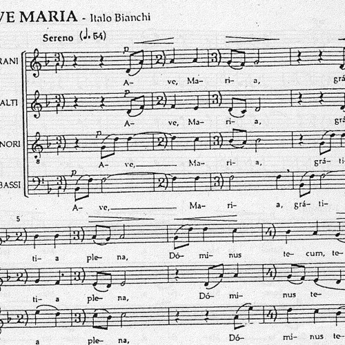 Ave Maria [I. Bianchi]