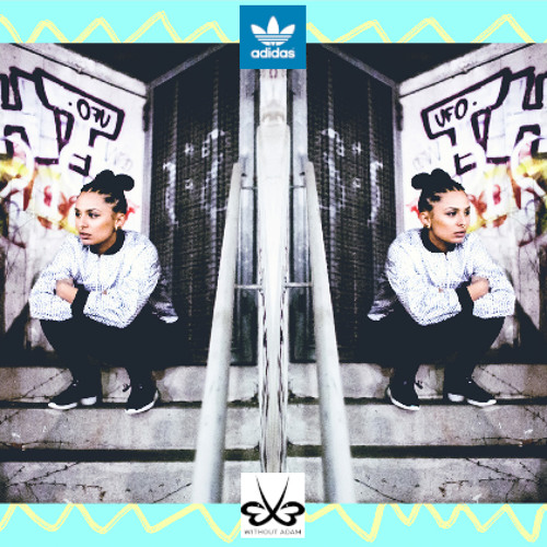 "eVe for adidas originals series ""Concrete Jungle Issue"""