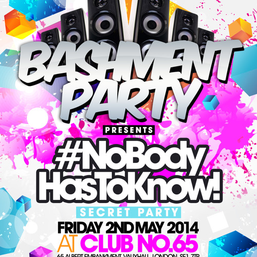 NEW SKOOL MIX ♪ BASHMENT PARTY x NOBODY HAS TO KNOW x MAY 2014