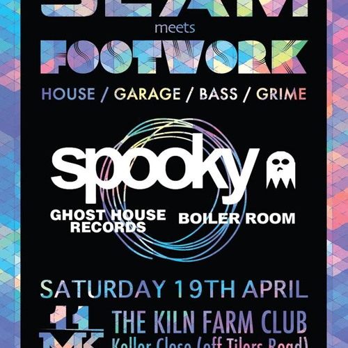 SPOOKY Live @ SLAM and FOOTWORK Present SPOOKY 19-04-14