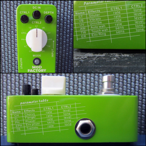 Billy Voight: Mooer Mod Factory