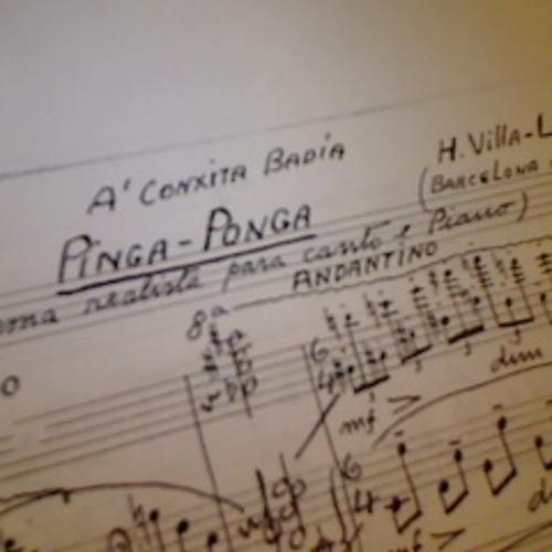 """Dinga-donga, poema realista"" by Heitor Villa-Lobos. Mezzo Anna Tonna, pianist Max Lifchitz"
