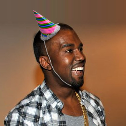 Kanye Inhales A Balloon Full Of Helium