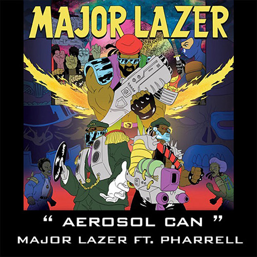 Major Lazer - Aerosol Can (Senor Roar Remix)