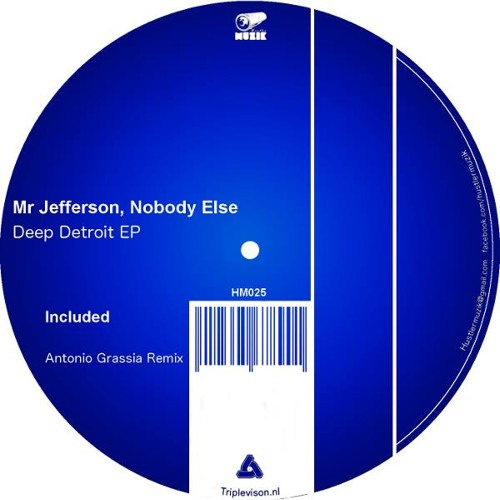 Mr Jefferson, Nobody Else - Deep Detroit (Original Mix)