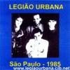 Legião Urbana - Baader Meinhof Blues - Clube Juventus 1985
