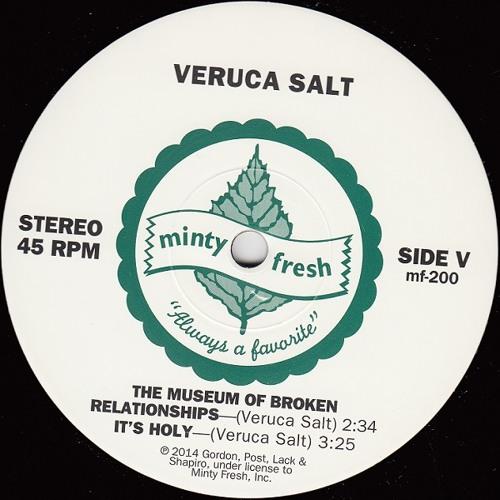 Veruca Salt - The Museum Of Broken Relationships (2014)