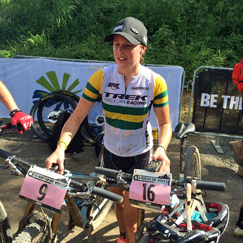 UCI MTB World Cup Cairns - Rebecca Henderson