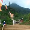 Chants des pèlerins à Adam's Peak (Sri Lanka)
