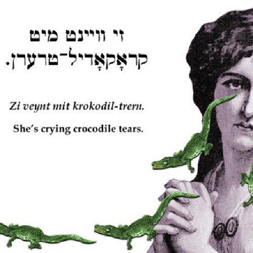She's Crying Crocodile Tears
