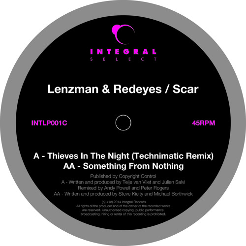 Lenzman & Redeyes - Thieves In The Night (Technimatic Remix) (Integral Select) TEASER