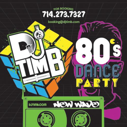 DJ Tim B's 80s New Wave Mix